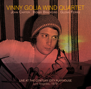 Vinny Golia Wind Quartet John Carter Bobby Bradford Glenn Ferris Century City Playhouse Los Angeles 1979